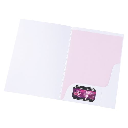 Business Corporate Presentation Folder A4 Matt White [Pack 50]