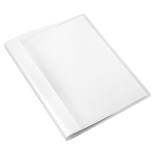 Business Clamp Binder Polypropylene Clear [Pack 10]