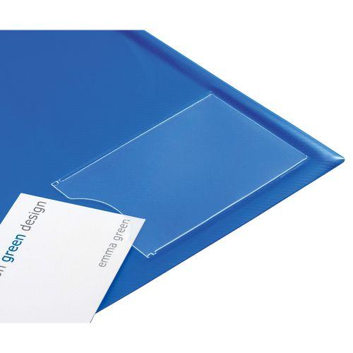 Business Envelope Stud Wallet with Card Holder Polypropylene A4 Assorted [Pack 5]