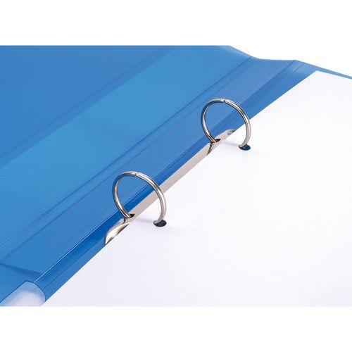 Business Ring Binder 2 O-Ring Polypropylene A4 Blue [Pack 10]