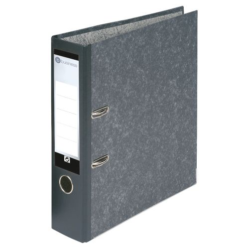 Business Lever Arch File 70mm A4 Cloudy Grey [Pack 10]