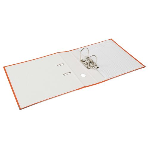 Business Lever Arch File 70mm A4 Orange [Pack 10]