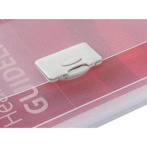Business Document Box Polypropylene 30mm A4 Clear [Pack 10]
