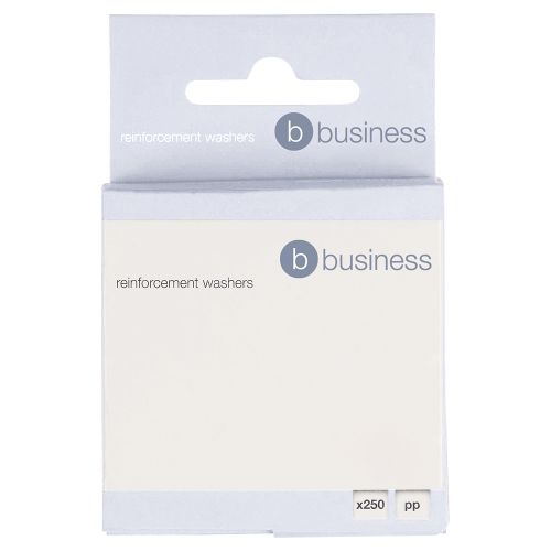 5 Star Office Transparent Vinyl Reinforcement Washers Box 250