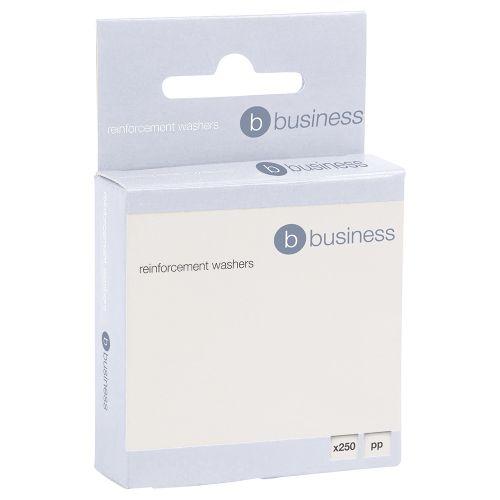 Business Vinyl Reinforcement Washers [Box 250]