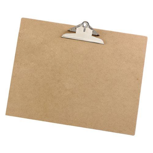 Business Clipboard Rigid Hardboard A3