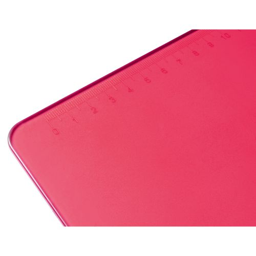 Business Clipboard Solid Plastic Durable with Rounded Corners A4 Pink