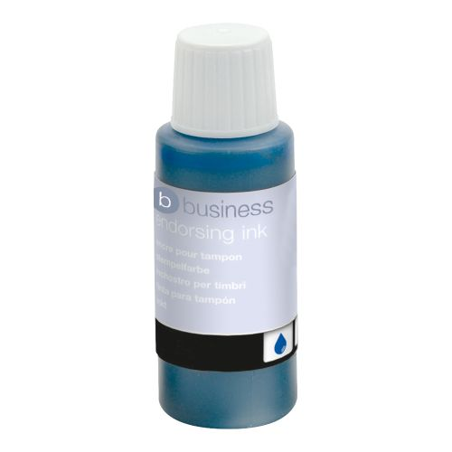 Business Endorsing Ink 28ml Blue