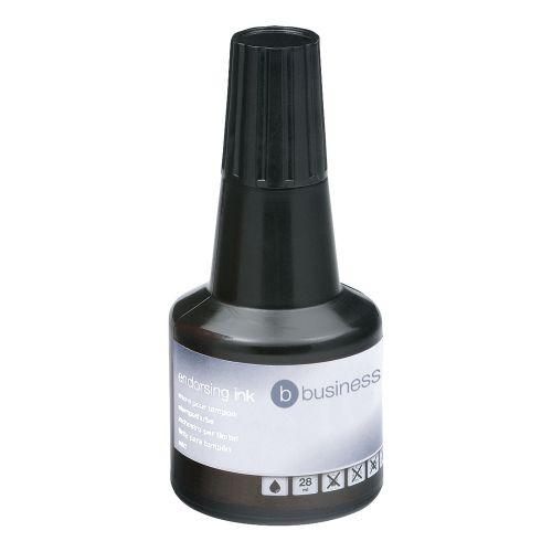 Business Endorsing Ink 28ml Black