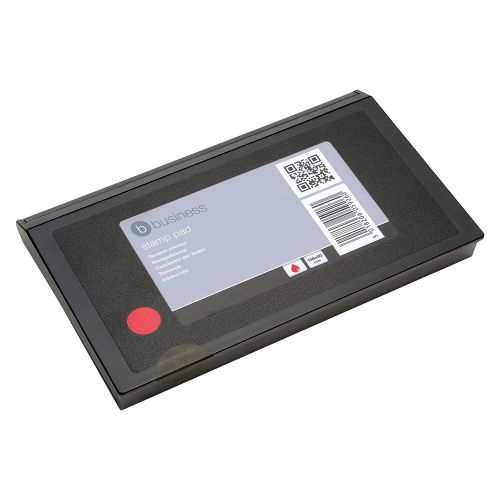Business Stamp Pad 158x90mm Red