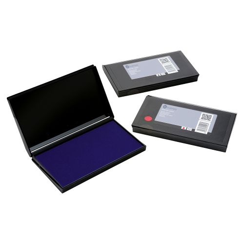 Business Stamp Pad 158x90mm Blue