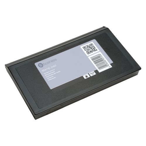 Business Stamp Pad 158x90mm Black