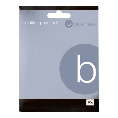 Business Multipurpose Tack Adhesive Re-usable Non-toxic 70g Blue [Pack 12]