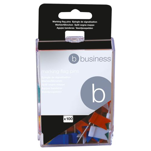 Business Marking Flags Assorted [Pack 100]
