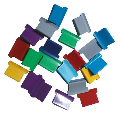 Business Ultra Clip 40 Refills Multi Coloured [Box 150]