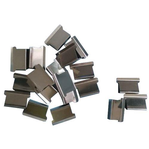 Business Ultra Clip 60 Refills Steel [Box 100]