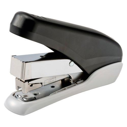 Business Power-Save Half Strip Stapler 40 Sheet Capacity Takes 26/6 Staples Black/Grey