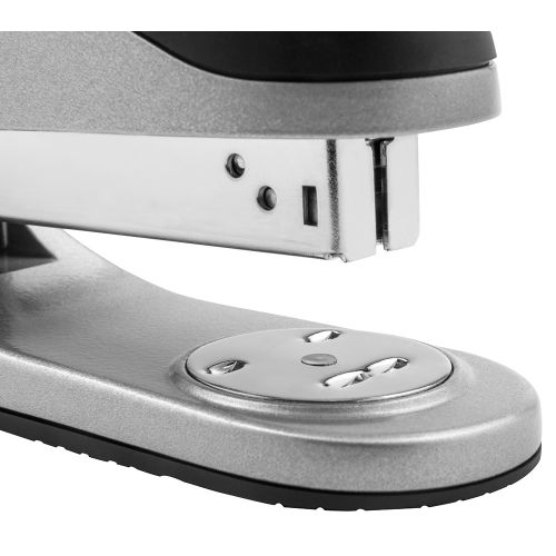 Business Premium Stapler Half Strip Capacity 20 Sheets Silver