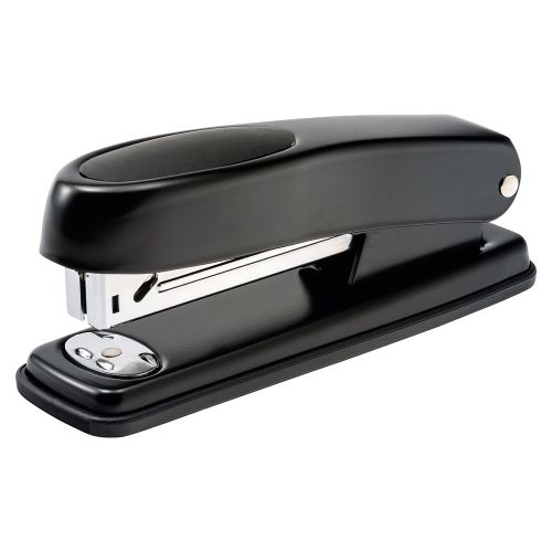 Business Metal Half Strip Stapler Soft Grip 20 Sheet Capacity Takes 26/6 Staples Black