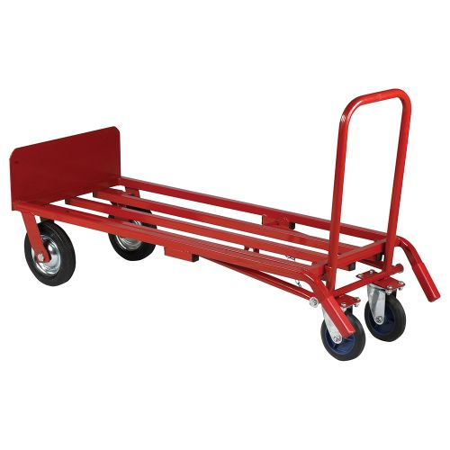 Business Sack Truck 3 Position Steel Frame Double Rear Castors Capacity 300kg
