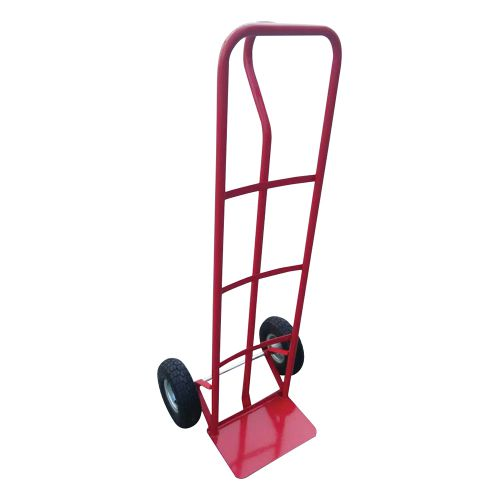 Business Sack Truck P Handled Steel Frame Pneumatic Wheels Capacity 200kg