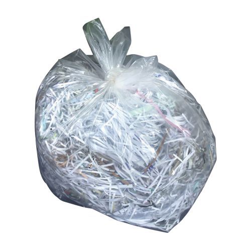 Business Bin Liners Heavy Duty 175 Litre Capacity W510xD340xH1170mm 38 Micron Clear [Pack 100]