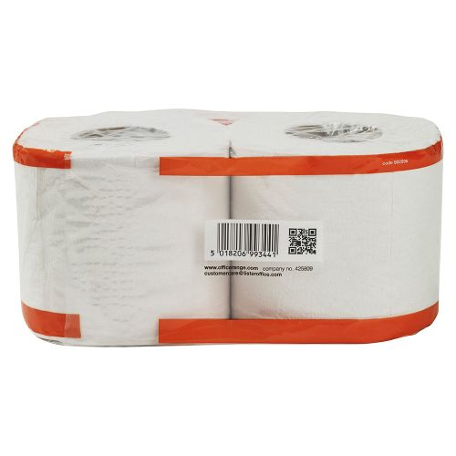 Business Toilet Tissue Two-ply 4-Rolls of 320 Sheets White [Pack 36]