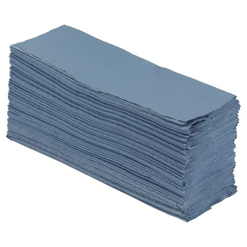 Business Cloths Dispenser Multipurpose Low Lint Solvent-resistant 110gsm 30x42cm Blue [Box 160]