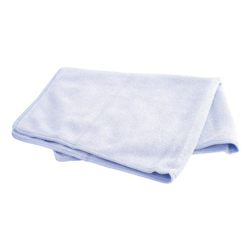 Business Microfibre Cleaning Cloths Colour-coded for Dry or Damp Multi surface Use Blue [Pack 6]