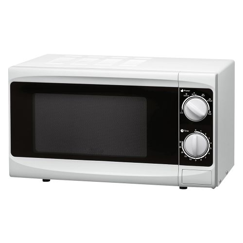 Business Manual Microwave Defrost and 5 Power Levels 800W 20 Litre White