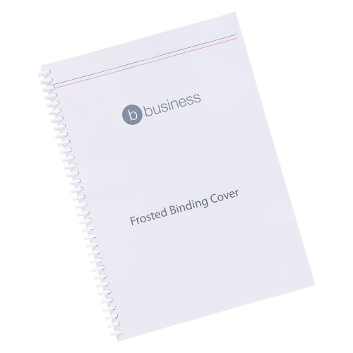 Business Binding Covers 300micron A4 Frosted [Pack 100]