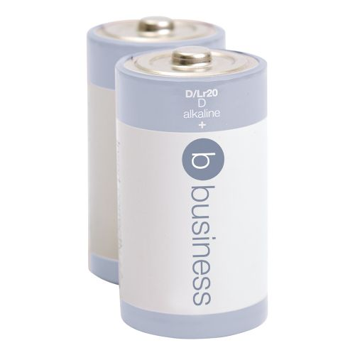 Business Batteries D / LR20 [Pack 2]