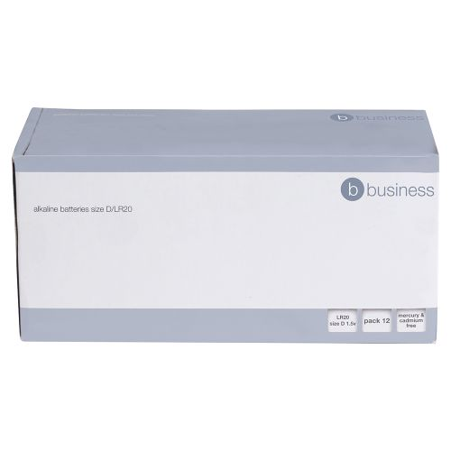 Business Batteries D / LR20 [Pack 12]