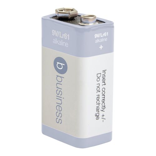 Business Batteries 9V / 6LR61 [Pack 12]
