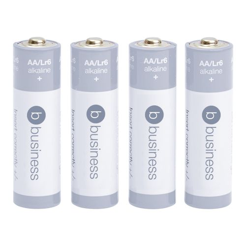 Business Batteries AA [Pack 4]
