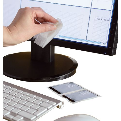 Business Screen Cleaning Sachets Anti-static [Pack 50]
