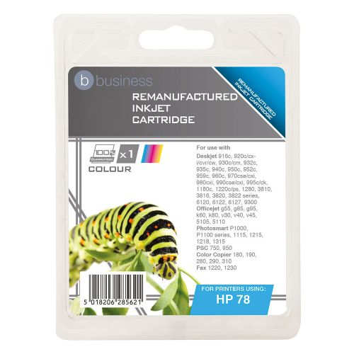 Business Remanufactured Inkjet Cartridge Colour [HP No. 78 C6578A Alternative]