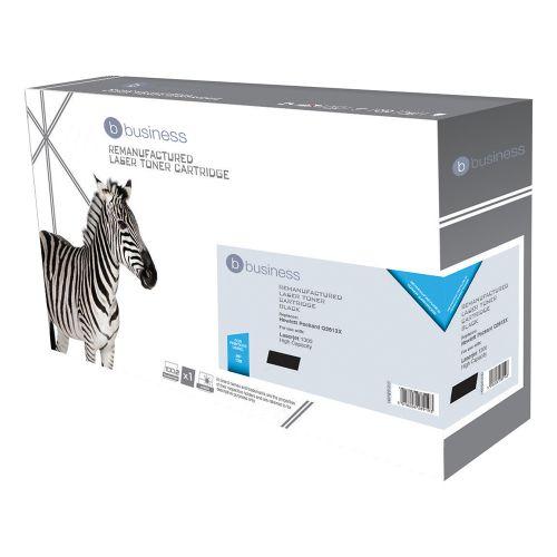 Business Remanufactured Laser Toner Cartridge 4000pp Black [HP No. 13X Q2613X Alternative]