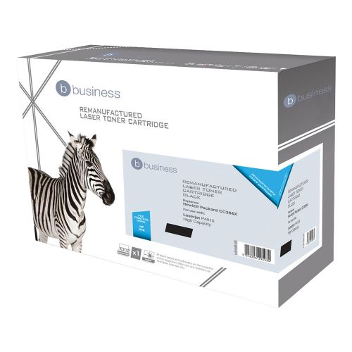 Business Remanufactured Laser Toner Cartridge 24000pp Black [HP No. 64X CC364X Alternative]