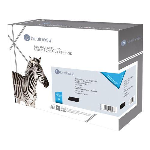 Business Remanufactured Laser Toner Cartridge 10000pp Black [HP No. 64A CC364A Alternative]