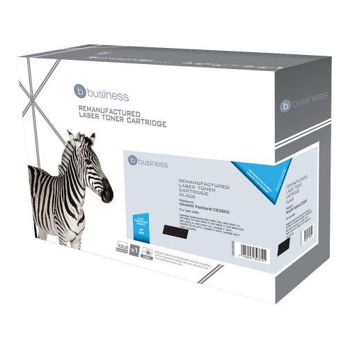 Business Remanufactured Laser Toner Cartridge 24000pp Black [HP No. 90X CE390X Alternative]