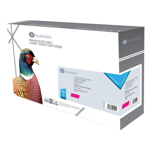 Business Remanufactured Laser Toner Cartridge 8000pp Magenta [HP No. 641A C9723A Alternative]