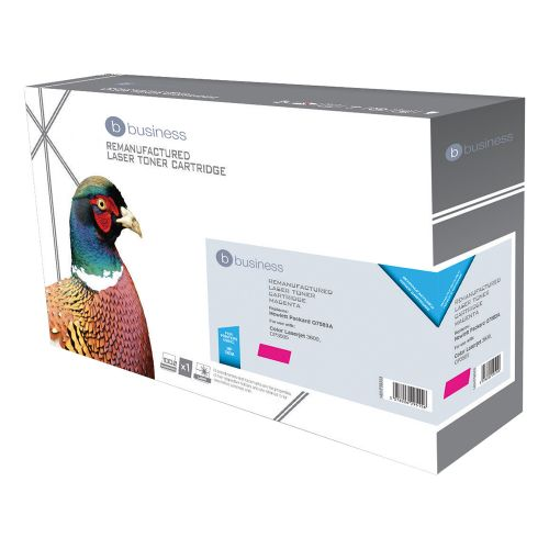 Business Remanufactured Laser Toner Cartridge 6000pp Magenta [HP No. 503A Q7583A Alternative]