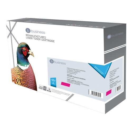 Business Remanufactured Laser Toner Cartridge 7000pp Magenta [HP No. 504A CE253A Alternative]