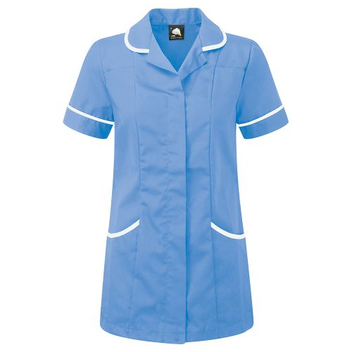 df9090cfa09 Ladies Tunic Concealed Zip Size 22 Hospital Blue/White - Facilities ...