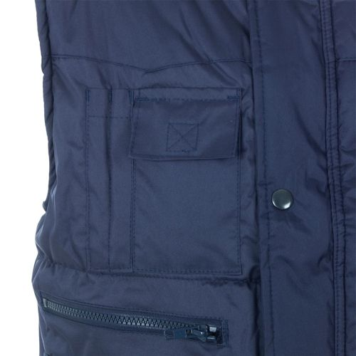 ST Body Warmer Polyester with Padding & Multi Pockets Large Navy Ref 58693 *Approx 3 Day Leadtime*