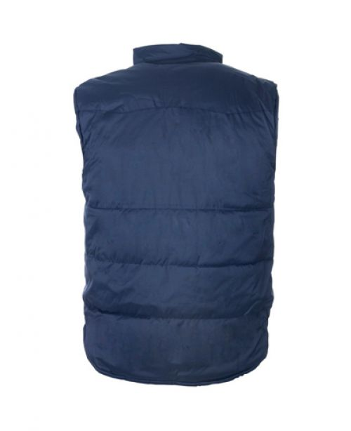 ST Body Warmer Polyester with Padding & Multi Pockets Extra Large Navy Ref 58694 *Approx 3 Day Leadtime*