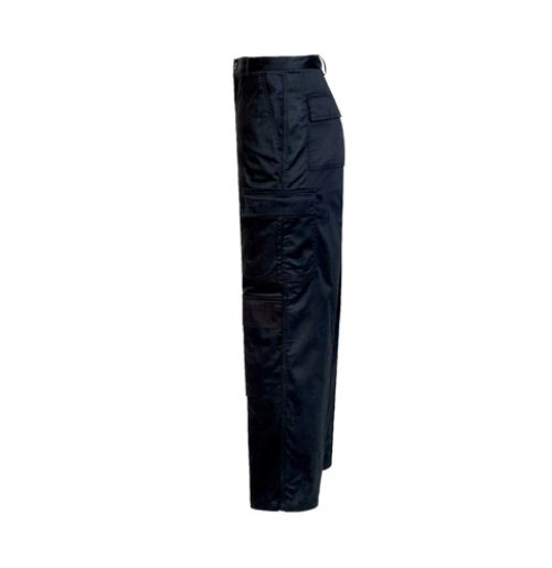 Supertouch Combat Trousers Polycotton with Pockets Tall Black 34inch Ref 18KA4 *Approx 3 Day Leadtime*