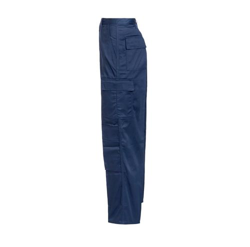 Supertouch Combat Trousers Polycotton with Pockets Tall Navy 40inch Ref 18KN7 *Approx 3 Day Leadtime*