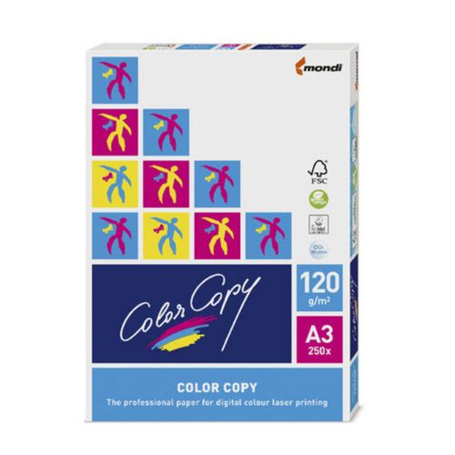 Color Copy Paper 120gsm A3 White Ref CCW1030 [250 Sheets]
